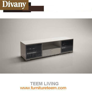 Laminated MDF 2doors L Shaped TV Cabinet pictures & photos