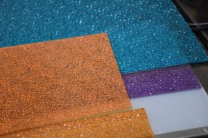 Embossed Panel Polycarbonate Material for Patio Covers pictures & photos