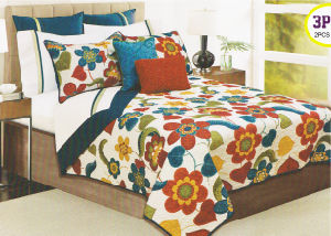 Printed Style Micro Fiber Bedding Set pictures & photos