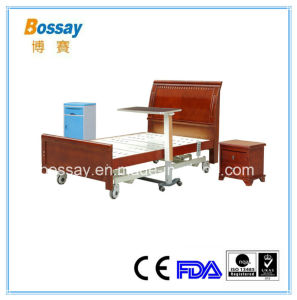 Wooden Homecare Bed Electric Nursing Home Bed pictures & photos