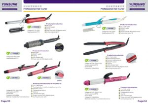 2016 Top Sale PRO Ceramic Hair Curler Iron Hair Curler Wand pictures & photos