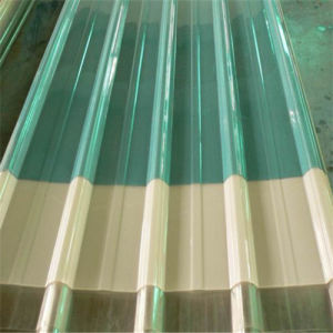 Polycarbonate Corrugated Plastic Roofing Sheets pictures & photos