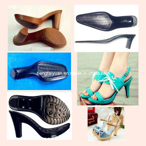 High-Hardness and Medium and High-Density PU Resin for Shoe Sole of Woman High-Heeled Shoes Zg-P-5090/Zg-I-5320 pictures & photos