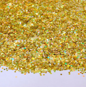 Wholesale Gold Sequin Glitter Powder pictures & photos