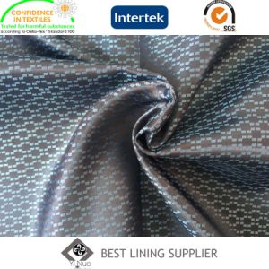 100 Polyester 120G/M Men′s Suit Satin Dobby Lining Fabric pictures & photos