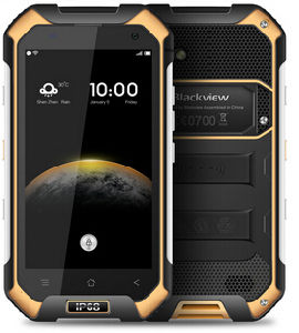 "Blackview BV6000 Smartphone 4G Lte Waterproof IP68 4.7"" HD Mt6755 Octa Core Android 6.0 Smart Phone 3GB RAM 32GB ROM 13MP Rear Camera Orange Color pictures & photos"
