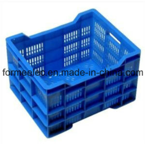 Turnover Box Mold Plastic Crate Injection Mould Design Manufacture pictures & photos
