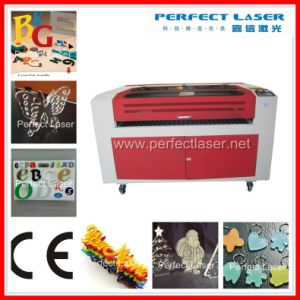 Acrylic/Plastic/Wood /PVC Board/ Wood CO2 Laser Cutting Machine Cutting Pedk-9060 pictures & photos