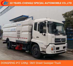 4*2 120HP 5m3 Road Sweeper Truck for Sanitation pictures & photos