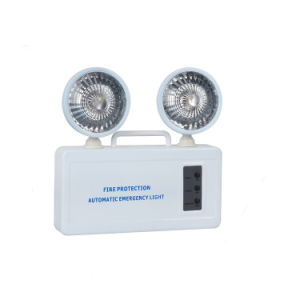 Non-Maintain Double Heads LED Fire Exit Emergency Light pictures & photos