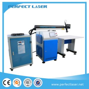 220W/ 300W/ 400W / 450W Aluminum / Stainless Steel Automatic Meta Channel L Letter Laser Welding Machine pictures & photos