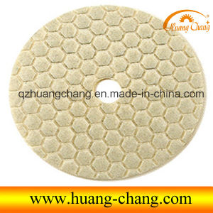 4inch/100mm Diamond Dry Polishing Pads / Sandpaper for Marble/Granite/Concrete/Artificial Stone