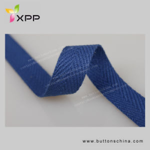 Dyeable 100 % Cotton Tape Webbing pictures & photos