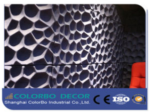 Polyester Fiber Acoustic Panels/Shaped Polyester Fiber Pet Sound Insulation pictures & photos