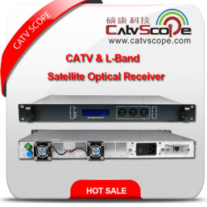 China Supplier High Performance CATV & L-Band Satellite Optical Receiver pictures & photos