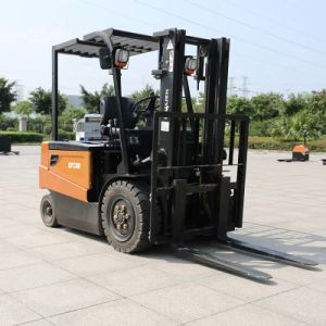3.0 Ton Four-Wheel Electric Forklift with Cuitis Controller Ce Certification (CPD30) pictures & photos