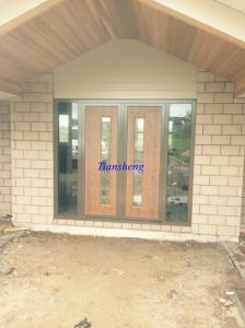 Aluminum Entry Door pictures & photos