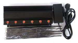 15W High Power 6 Antennas Cell Phone GSM 3G 4G Jammer pictures & photos