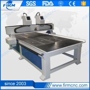 Firm Double Spindle Wood CNC 1325 Router for Panel Furniture pictures & photos