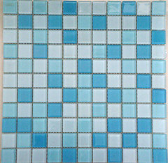 Shower Room Wall Glass Mosaic Tiles pictures & photos