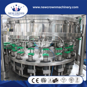 Balanced Pressure Monoblock 2 in 1 Can Filling Machine for Gass Beverage pictures & photos