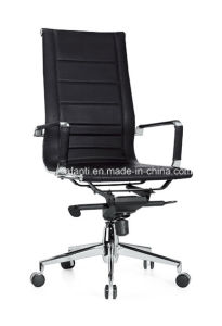Modern Adjustable Swivel Eames Office Leather Manager Chair (RFT-A12) pictures & photos