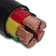 High Quality 4X10mm2 Copper Core PVC Cable pictures & photos