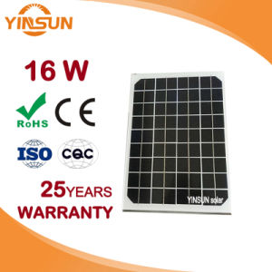 16W PV Solar Panel for Solar Module System pictures & photos