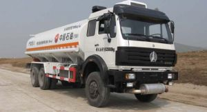 Factory Beiben 6X4 Fuel Oil Tanker Truck for Sale pictures & photos