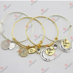 Gold/Silver Copper Charms Bracelet for Kids Jewelry (B132) pictures & photos