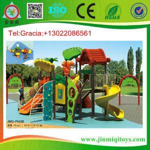 Plastic Playground Slide, Amusement Equipment Slide, Baby Playground Jmq-P042b