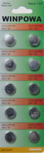 1.5V Watch Battery Lr44 AG13 Button Cell From Factory pictures & photos