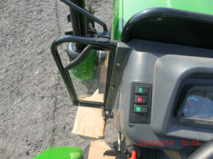 John Deere Hx504 4WD Tractor with Snow Blade/Front Loader pictures & photos