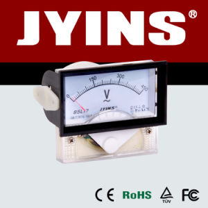 70*40mm Analog Panel Voltmeter (JY-85C17-V) pictures & photos