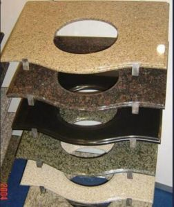 Countertop, Black Countertop, Granite Stone Vanity Top/Countertops for Kitchen pictures & photos