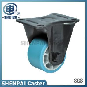 "4""Aluminium Core Blue Nylon Swivel Caster Wheel pictures & photos"