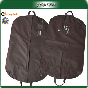 Middle Size Folded Non Woven Suit Cover Bag pictures & photos