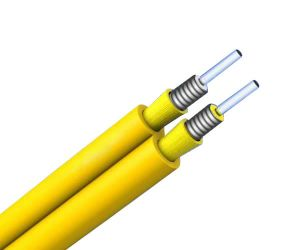 2 Core Armored Indoor Optical Fiber Cable pictures & photos
