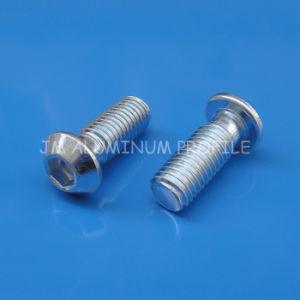 Mushroom Head Screw M14*30mm Zinc Blue Bolt pictures & photos