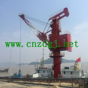 Double Lifting Speed Floating Crane Hoist pictures & photos