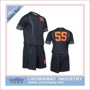 Women Uniform Designs Soccer Uniform Jersey pictures & photos