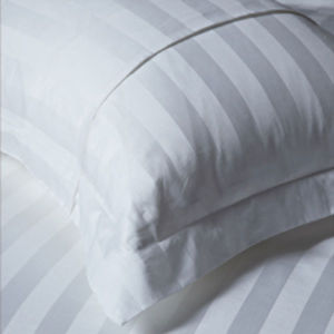 100% Cotton 3cm Stripe Hotel Pillow Sham pictures & photos