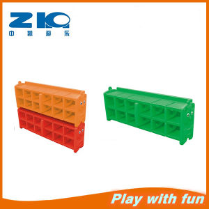 Cheap China Hot Selling New Design Plastic Kids Shoe Shelf pictures & photos