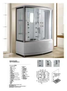 Hot Sales in Europe Shower Room Steam Room (D530) pictures & photos