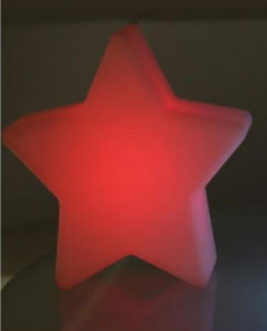 Festival Christmas Party Illuminated Decoration LED Star (D009S) pictures & photos