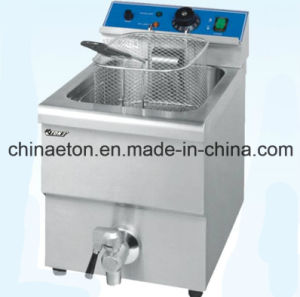 Single Electric Fryer with CE Certificate pictures & photos