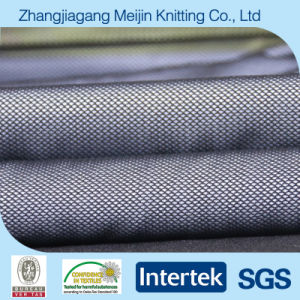 Knit Nylon Spandex Diamond Mesh Fabric for Garment (MJ5042)