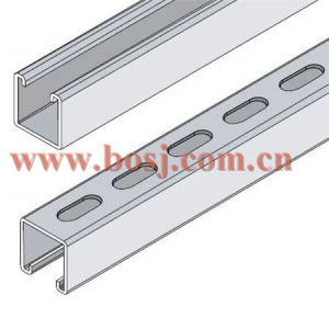 Strut Channel Slotted Cable Tray 41*62mm Roll Forming Production Machine Myanmar pictures & photos