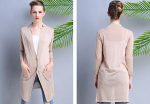 Factory Direct New Autumn European Women′s Sweaters/Long Sweater Cardigan pictures & photos