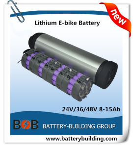 2015 High Quality 48V 10ah Bottle Type Lithium E-Bike Battery with 2 Years Warranty pictures & photos